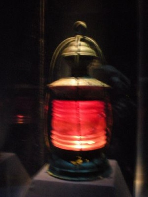 The Lantern placed to discourage the Beaver.