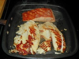 Step 5 - Cook 6 to 7 minutes on each side