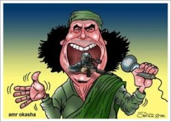 The story of Qaddafi's downfall