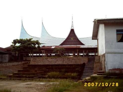 The second building in MAN 1 Payakumbuh that apply the concept of Rumah Gadang Architecture.