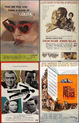 Books into Movies - Bestselling Books of 1958 Made Into Movies