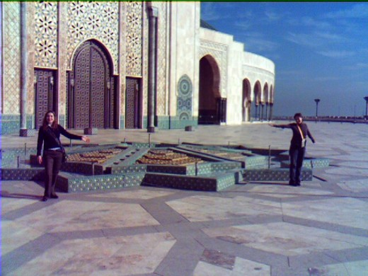 If you are wondering where to go in Morocco Mosque Hassan II in Casablanca must be part of your list.