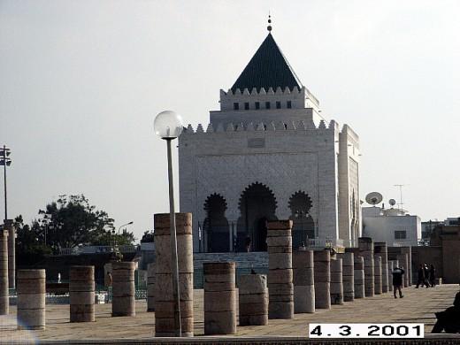 Mausoleum of Mohammed V, Rabat, Morocco.