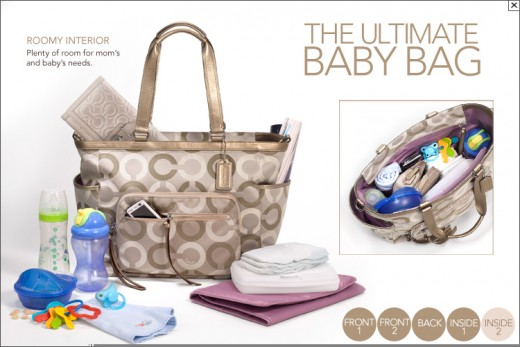 The Ultimate Coach Baby Bag