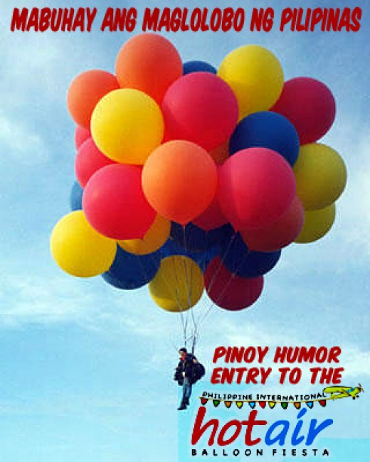 Hot Air Balloon Festival in the Philippines