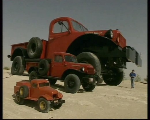 The HUGE Dodge Power Wagon