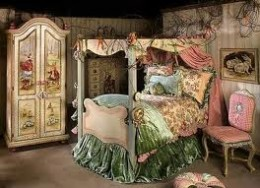 Picture of fairy tale kids bed