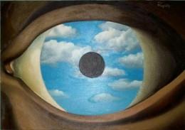 Ren Magritte, Le Faux Miroir, 1928