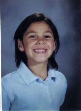 Nina in 1st grade