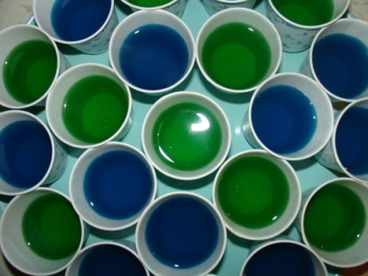 Assorted Jello Shots