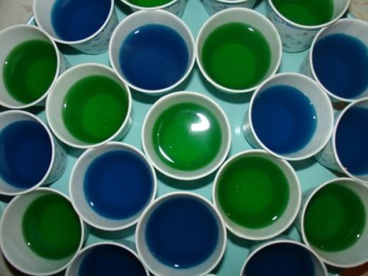 Assorted Jello Shots