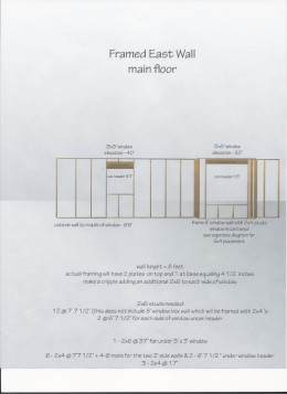 Wall Layout Plan