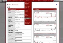 Accessing the proxy server menu