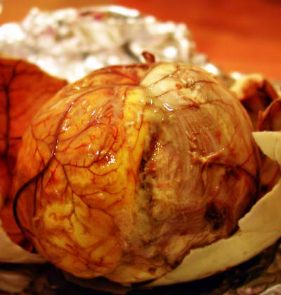 BALUT - a boiled 17-day old duck's egg, a delicacy known in the Philippines
