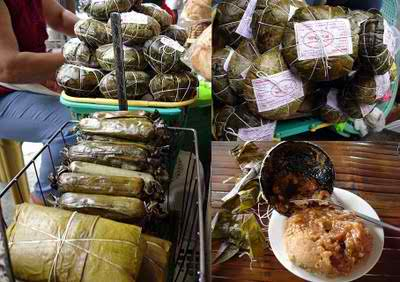 BINAGOL - a delicacy that has started and is produced in Dagami, Leyte. The cooked binagol is packaged in a pair of polished coconut shells(bagol).