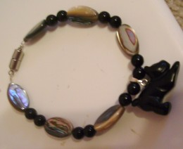 This is one of the bracelets I made with tools from the kit I received.