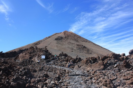 Summit of Mt Teide
