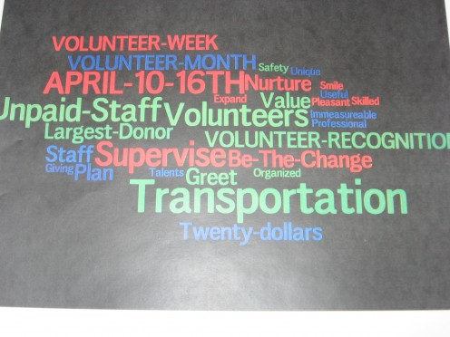 Supervision Meeting Presentation using  Wordle