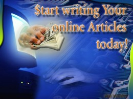 Starting your online series today may bring you a nice passive income right through the front of your computer screen!