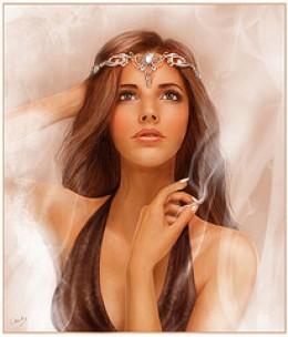Morgaine, HIgh Priestess of the Goddess Arthur's Half Sister