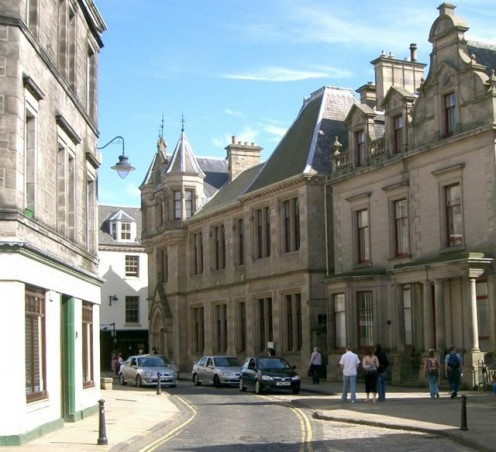 The Carnegie Library, Dunfermline