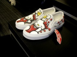 Collaboration between Hello Kitty and VANS is WINNING