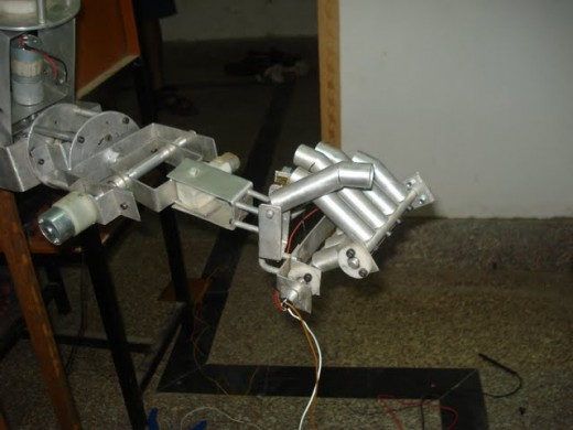 Homemade Robotic Hand Project