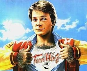 "Michael J. Fox ""Teen Wolf"""