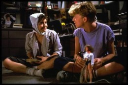 "IIan Mitchell-Smith and Anthony Michael Hall ""Weird Science"""
