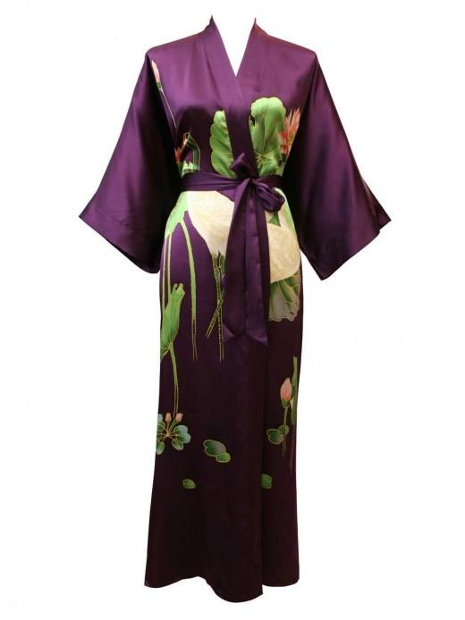 Buy A Silk Kimono Robe