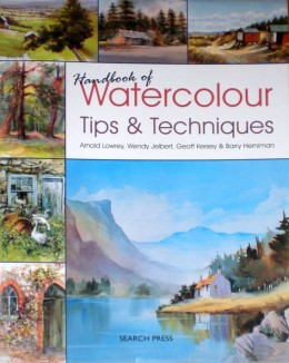 Superb watercolour techniques book packed with information