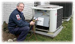 An HVAC Technician