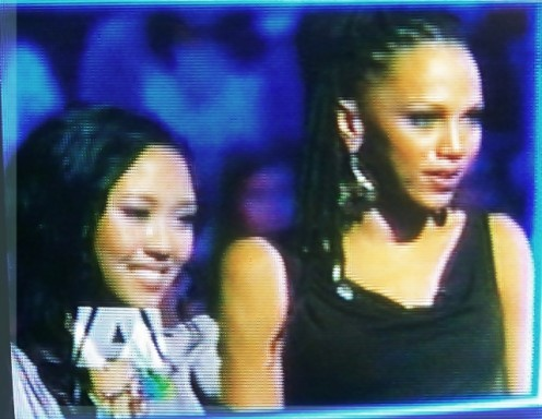Thia Megia and Naima Adedapo ELIMINATED - March 31, 2011 - American Idol 2011 Top 11 Contestants