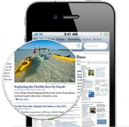 Retina: 4 times clarity than previous iPhones