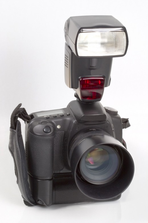 A digital SLR, the tool for microstock.