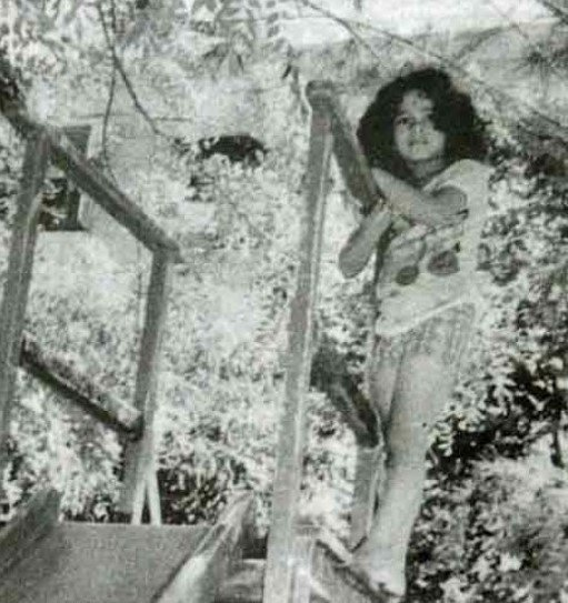 Sachin Tendulkar's Cute Childhood Picture