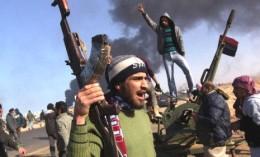 Rebel in Libya