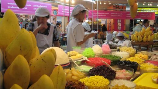 MBK food courts dessert shop