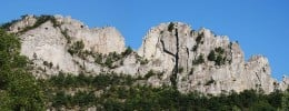 Seneca Rocks, West Virginia.