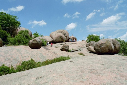 Elephant Rocks, Missouri.