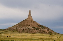 Chimney Rock, Nebraska.