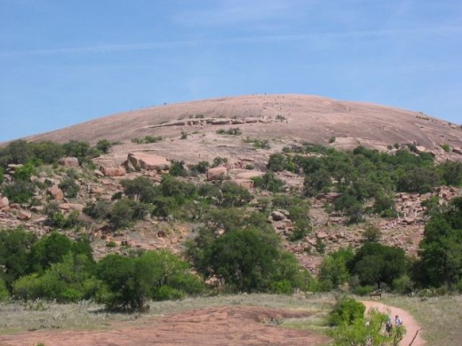 Enchanted Rock, Texas.