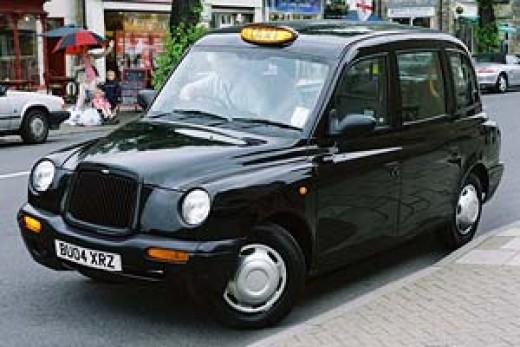 a London taxi