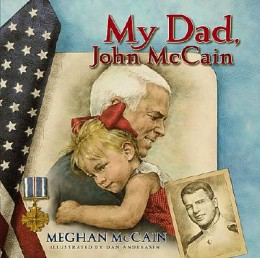"""""""Eight years later, he decided to run for president again. Things didnt look great at first. His campaign nearly ran out of money. People were starting to say he didn't have a chance. But my dad never gives up."""""""