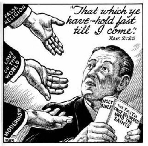 The hands of deceit.
