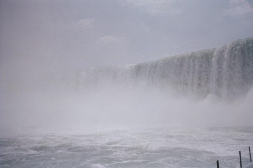 Made of the Mist, a half hour tour with a birdseye view of the American and Canadian Horse Falls