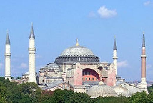 Sophia Hagia in Constantinople