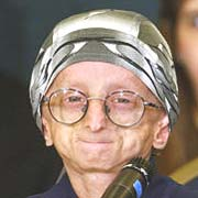 A young progeria sufferer