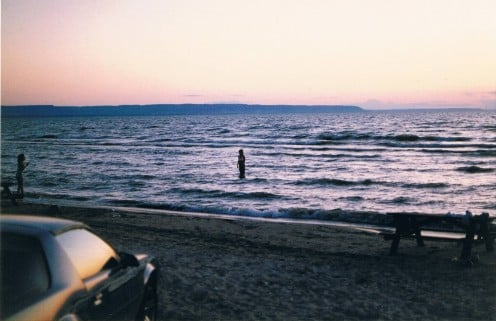 Wasaga Beach at Sundown