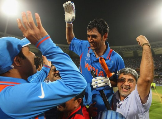 A Very Happy Indian Captain - MS Dhoni